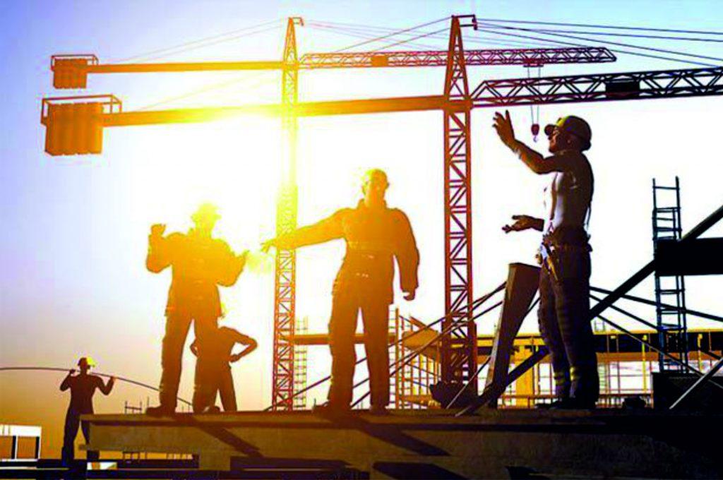 Construcții Macara Muncitori Penta Media