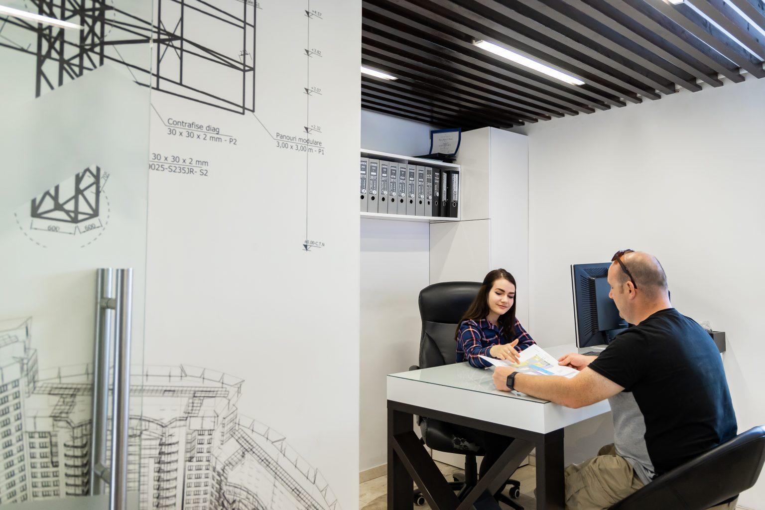 Birou design modern Penta Media, Cerere Oferta