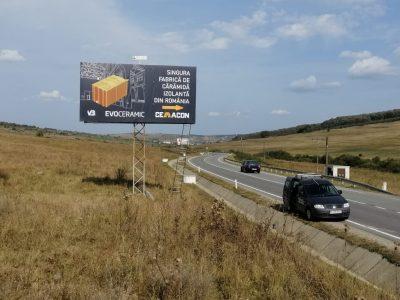 Panou Billboard/Unisign în timpul zilei Cemacon