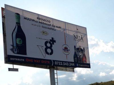 Panou publicitar de tip Unipol